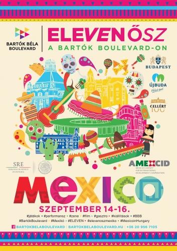 #film #irodalom #tánc #színház #performansz #Eleven #Mexikó