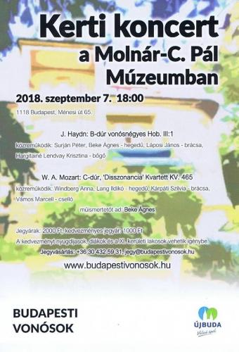 Kerti koncert a Budapesti Vonósokkal