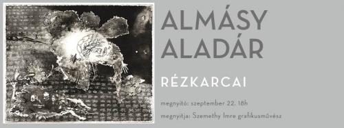 Almásy Aladár rézkarcai kiállítása