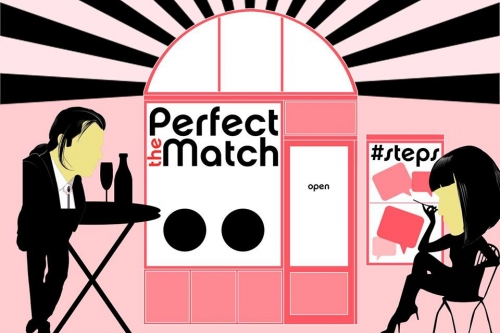 DESIGN HÉT a Bartók Boulevard-on | The Perfect MATCH | The Matchmaker installáció