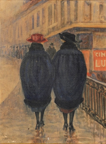 Kora esti séta a Bartók Béla úton