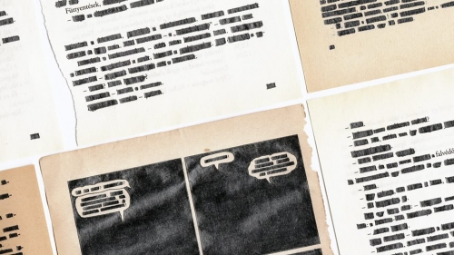 Boros Mátyás: Kóbor lapok / Stray Pages