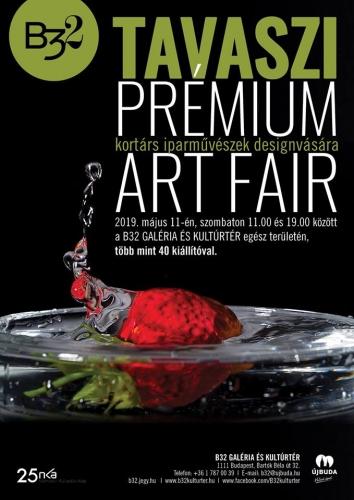 Tavaszi Prémium Art Fair a B32-ben