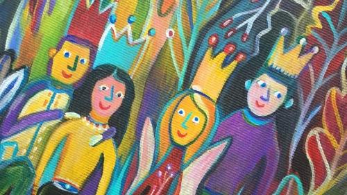 """Rutkai Bori - """"Az ABBA zenekar kirándul az őszi erdőben"""" - kiállítás"""