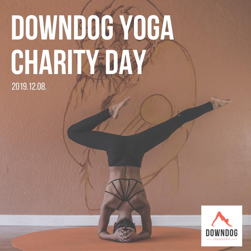 CHARITY DAY - adományos jógaórák