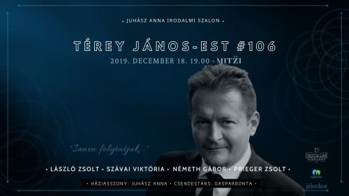 Térey János-est / Irodalmi Szalon #106.