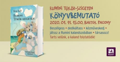 Rumini Tükör-szigeten könyvbemutató
