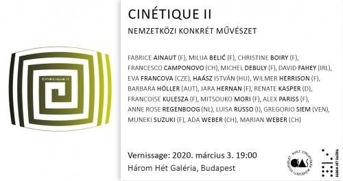 Cinétique II / csoportos kiállítás
