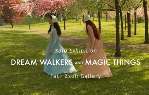 Katerina Belkina Dream Walkers and Magic Things című kiállítása a Faur Zsófi Galériában