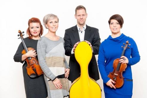 BDZ Quartet Zenebemutató Koncert Kolonits Klárával