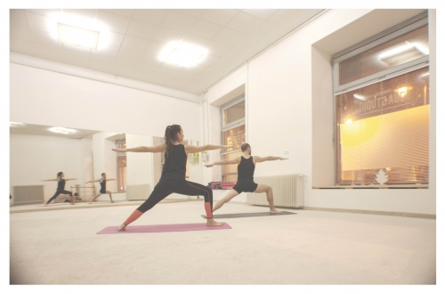 Napindító jóga + nyílt nap