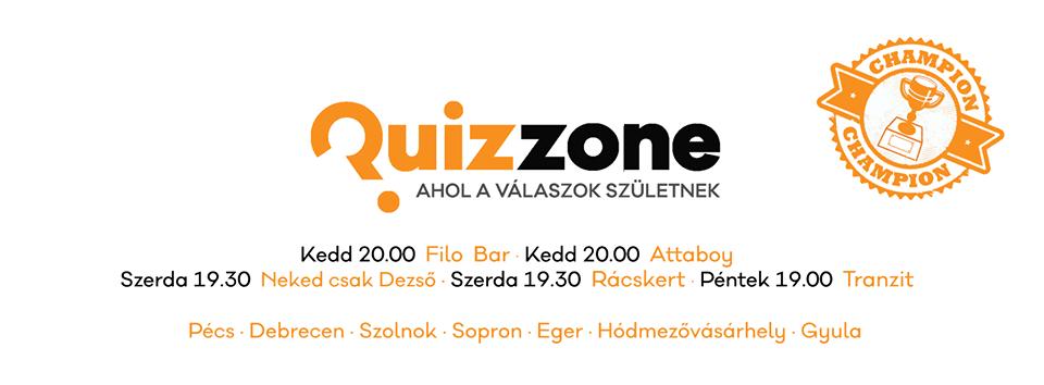 Quizzone Kupa 27. - Tranzit Bistro