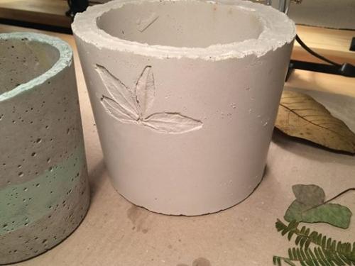 Tavaszi beton workshop a Kredencben