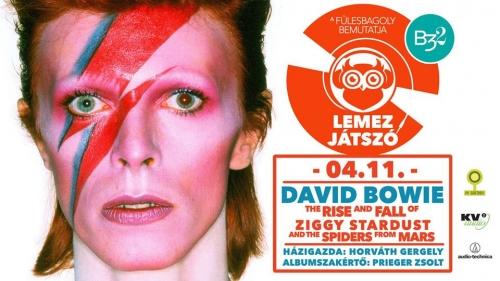 Lemezjátszó vol. 1. // David Bowie - Ziggy Stardust lemez