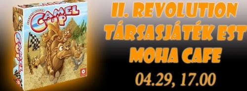 II. Revolution Társasjáték Est