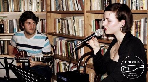 Jéger Dorka & Bihari Márton koncertje a Palackban