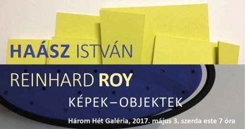 Haász István, Reinhard Roy / Képek-objektek