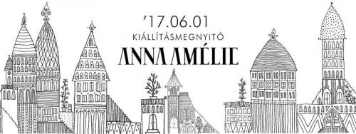 Anna Amélie kiállításmegnyitó