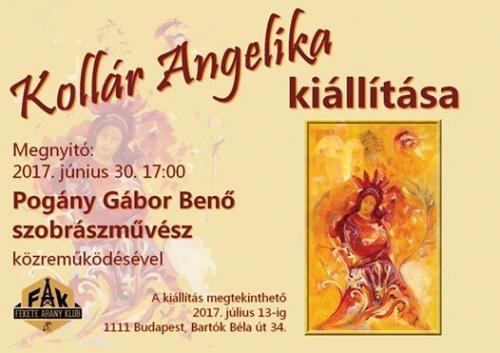 Kollár Angelika festészeti kiállítása a FAK-ban