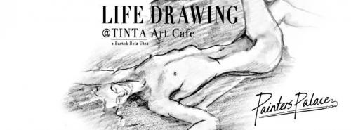 Minden szerdán Life Drawing a Tintában