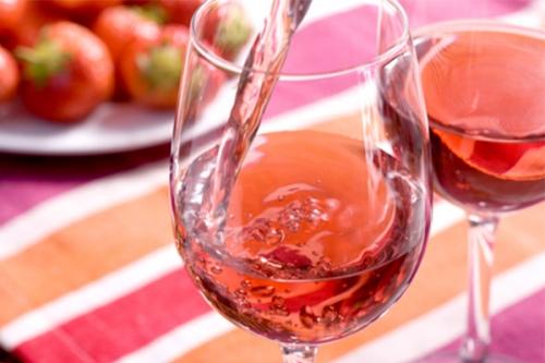 A rosé öt árnyalata teszt