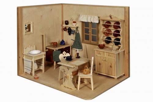 Játékbútorok babákkal - kiállításmegnyitó a KÁMJT-nál
