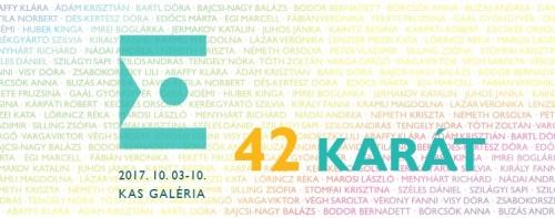 Ékszerek Éjszakája III. - 42 KARÁT a K.A.S.-ban
