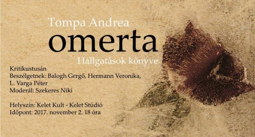 Kritikustusa - Tompa Andrea: Omerta / Hallgatások könyve