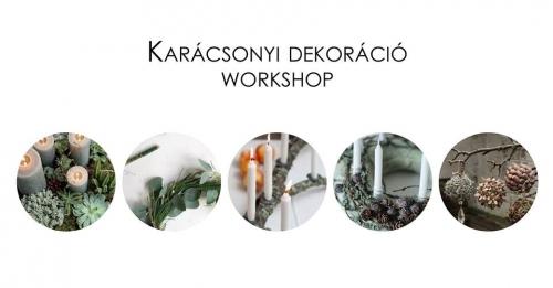 Karácsonyi dekoráció workshop a Bartókon