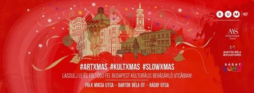 #artxmas, #kultxmas, #slowxmas: december 8-án töltődj fel nálunk a karácsonyra!