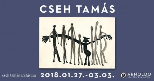 CSEH TAMÁS grafikái az Arnoldóban