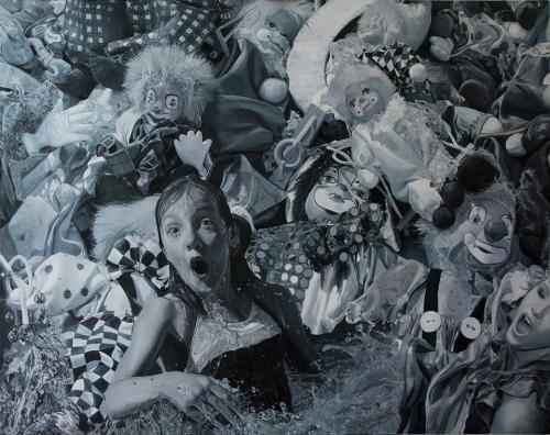Hartung Sándor festőművész kiállítása a Godot-ban