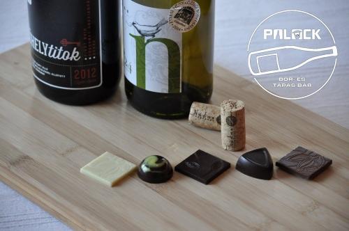 Nádas-Gingalló bor-csokoládé teszt