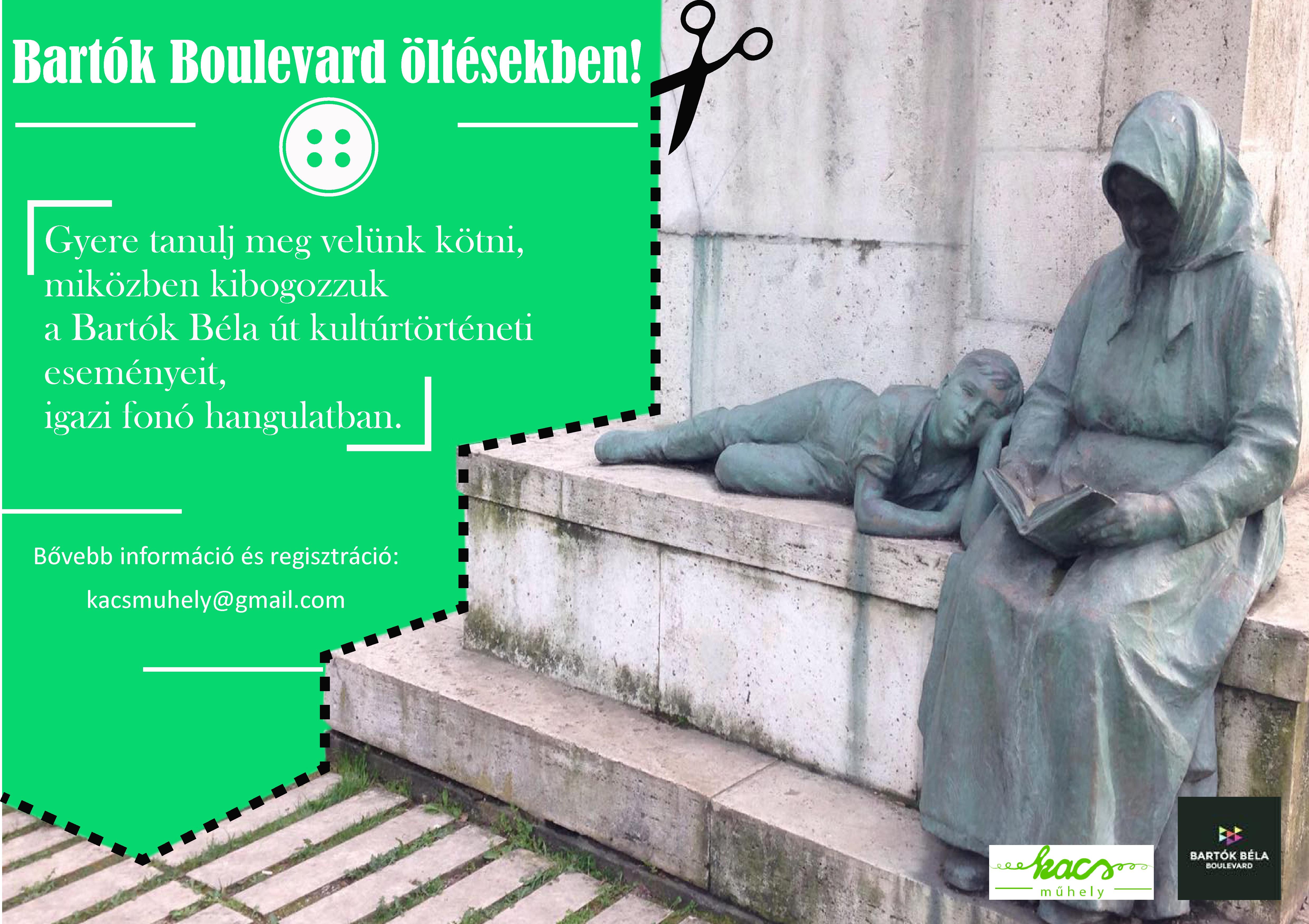 Bartók Boulevard öltésekben! #BartókAnno