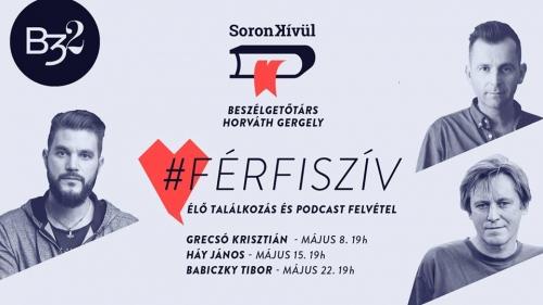 Soron Kívül: #Férfiszív. Élve boncolgatás és podcast felvétel