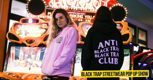 BLACK TRAP Streetwear Pop-Up Show Budapest