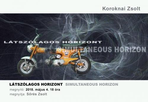 Látszólagos horizont / Koroknai Zsolt kiállítása a KAS-ban